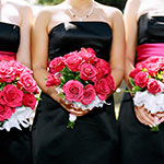 Wedding bouquet at a Coeur d'Alene Wedding - Bridemaids