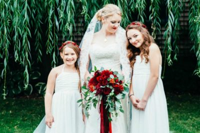Beautiful bride in Coeur d'Alene
