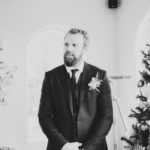 Groom at a Coeur d'Alene Inn