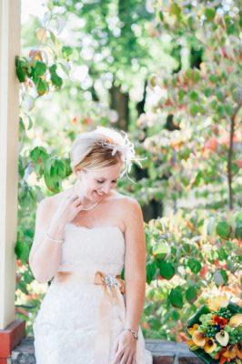 Bride at a Coeur d'Alene Inn