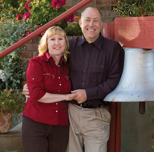 Tina and John Hough, the Innkeepers