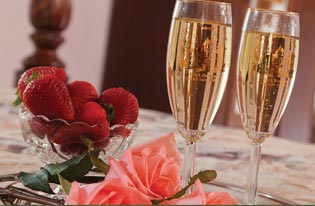 Coeur d'Alene Idaho Inn Weddings, Champagne
