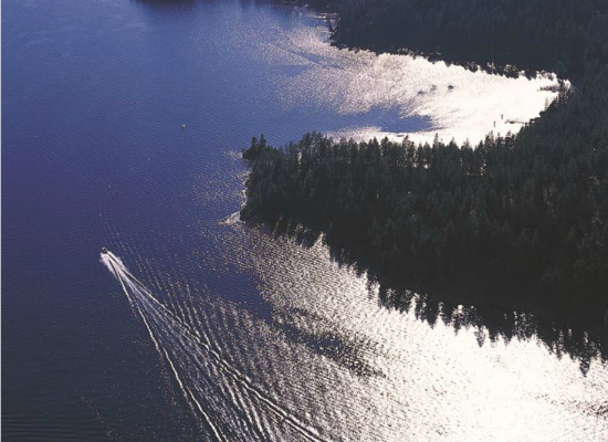 Cruise the lake on your beautiful Coeur d'Alene