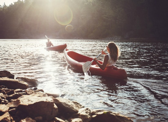 Embark on a kayaking adventure on your Coeur d'Alene vacation