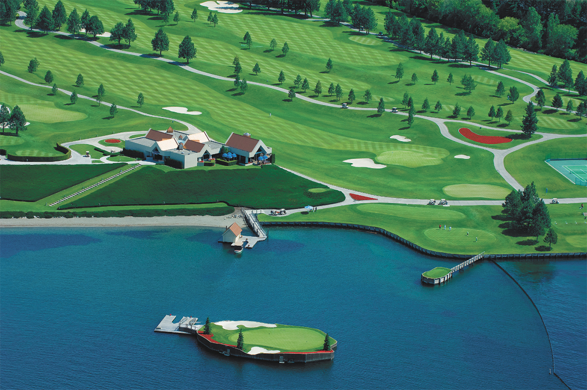Coeur d' Alene Golfing